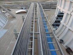 FRP Cable Tray Management