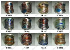 Glass Finger Rings