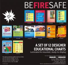Posters on Fire safety at Enablers &
