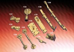 Brass Hooks, Latches & Stoppers