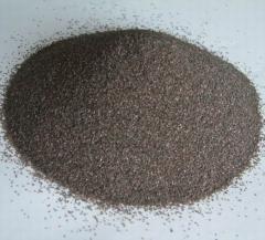 Brown fused alumina grailns