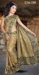 Fancy Crepe Sarees