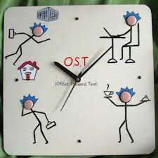 Office Standard Time (OST) Wall Clock