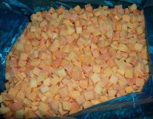 Frozen Red Papaya