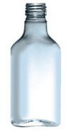 150ml Flat Medical Bottles