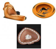 Terracotta Ashtrays