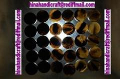 Buffalo Horn Colour Button