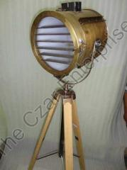 Solid Brass Searchlight