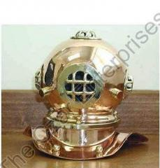 Antique Finish Diving Helmet