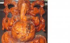 Wooden Ganpati