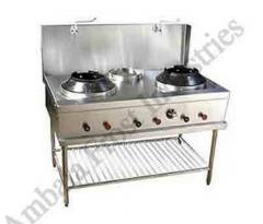 Burner Commercial Chinese Cooking Range