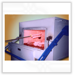 Shell firing furnace
