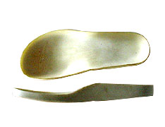 Footbed with cellulose board.