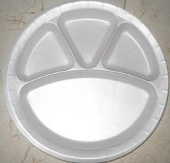 12 Inch 4 CP Plate Round