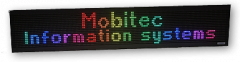 MobiLED Colour signs