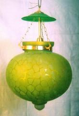 Glass Pot Shape Lamps