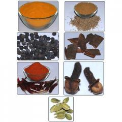 Spices, seasonings, additives, other food