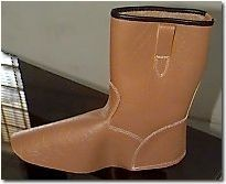 Leather Upper For Industrial Safety Boots