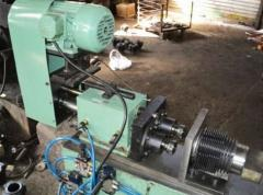 Twin Spindle Self Feed Drill Unit