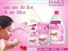 Famus Rose Moisturing Hand Wash