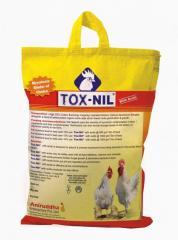"""Tox-Nil with acids  """"Mycotoxin Binder of"""