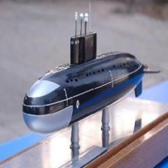 An extensive range of Submarine Models is provided