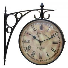 Metal Station Clocks