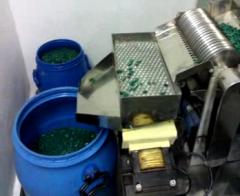 Empty capsules transfer device