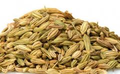 Fennel seed is the oval, green or yellowish brown