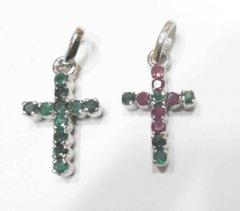 925 silver cross pendent