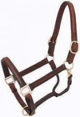 English Leather Horse Head Collar