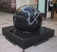 Granite ball fountain,sphere fountain,floating