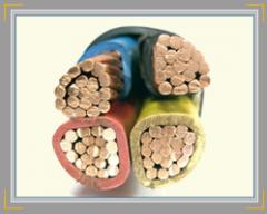 Copper Conductor PVC Insulated PVC Sheathed Cables