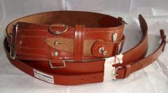 Leather Army Belt