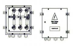 Coaxial Cross Bonding Link Box