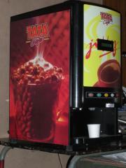 TEA & COFFEE VENDING MACHINE