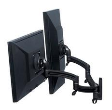 K2W200B KONTOUR Dual Arm Wall Mount, Dual Monitor