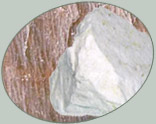 Feldspar comprises a group of minerals containing