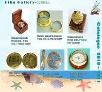 Nautical Brass Compasses