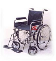 Wheel Chair Folding Deluxe (Full chrome)