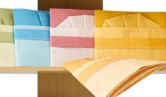 Sheets made of natural fabrics