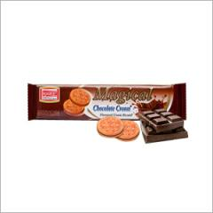 Magical Chocolate Cream Biscuits