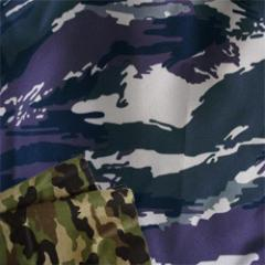 PU Coated Camouflage Fabric