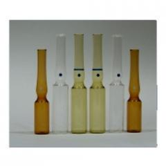 One Point Cut Glass Ampoule