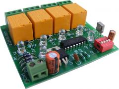 4 channel IR Remote Relay Board