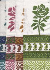 Cotton 60S Printed Border Fabrics
