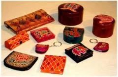 Leather handicrafts goods