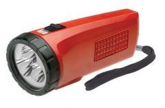 LED Based Rechargeable Flashlight