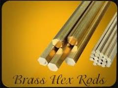 BRASS ROD/HEX