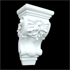 Gypsum Roman Column Head